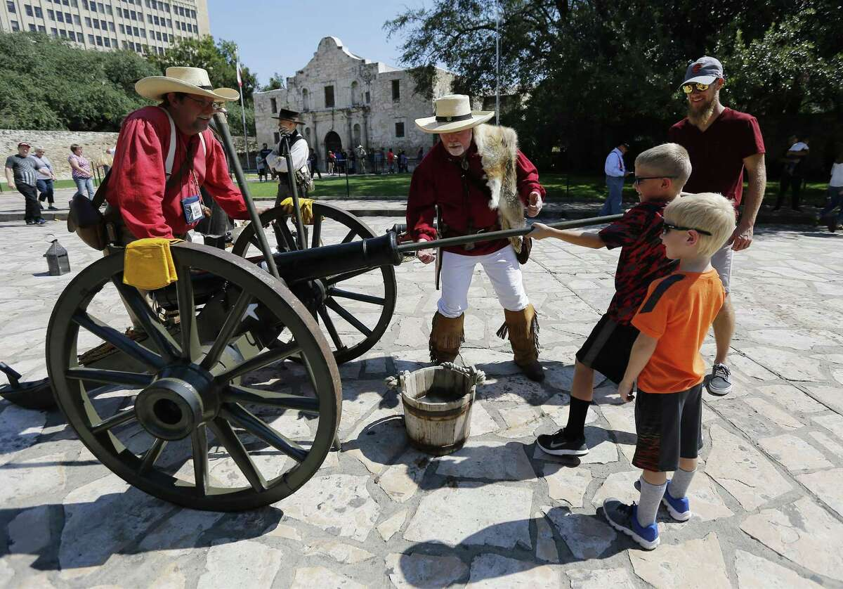 Pilgrimage to the Alamo: Of course you remember it, especially after weeks of learning about it in Texas history.