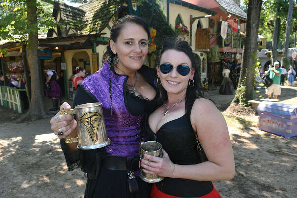 Hundreds of people came out to enjoy the perfect weather on the opening weekend of the Texas Renaissance Festival.