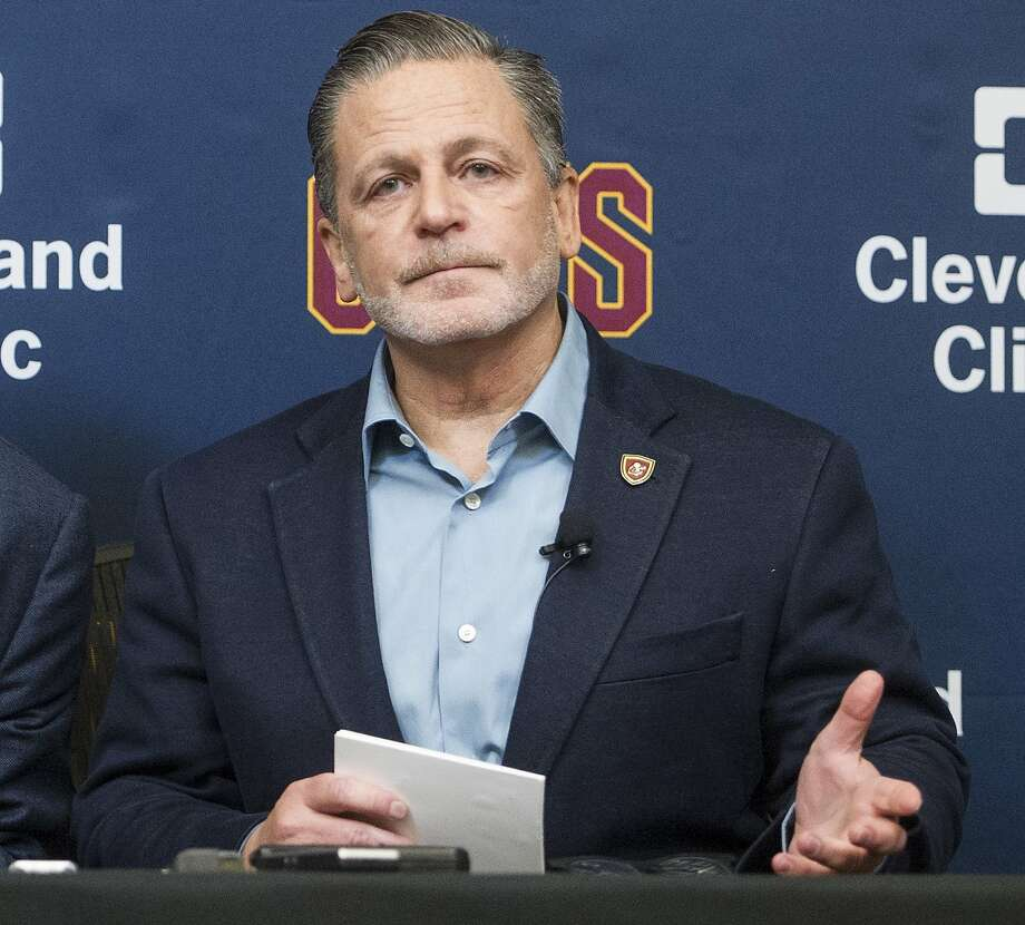 "Cavs owner Dan Gilbert said, ""there's an element of racism that I didn't even realize existed."" Photo: Phil Long, Associated Press"