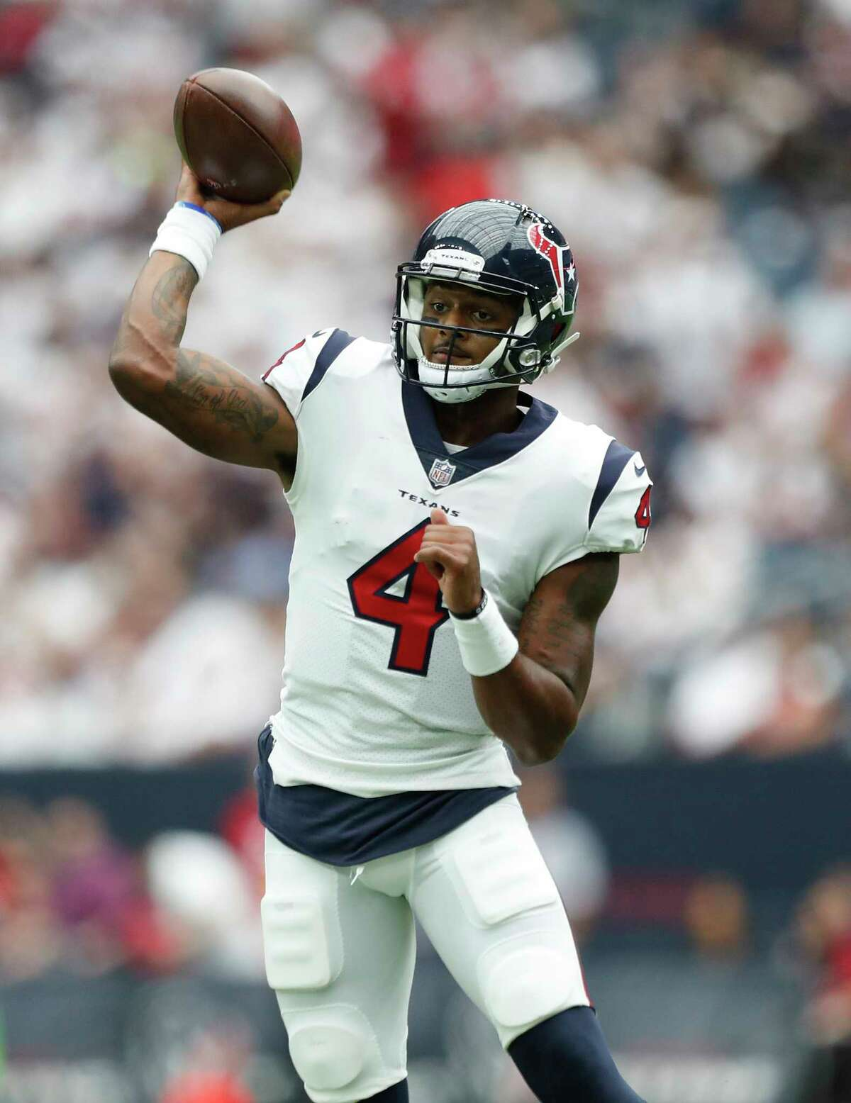 Rookie Deshaun Watson has shown he is capable of giving the Texans a shot to win since taking over for Tom Savage at quarterback in the second half of the season opener.