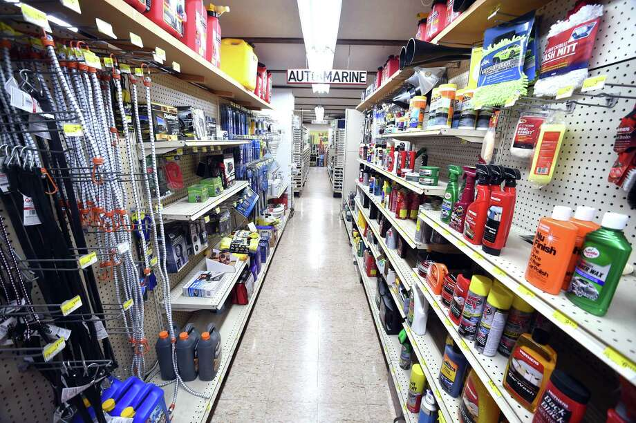 The Auto/Marine aisle at Ring's End in Madison photographed on September 12, 2017.  Arnold Gold / Hearst Connecticut Media Photo: Arnold Gold / Hearst Connecticut Media / New Haven Register