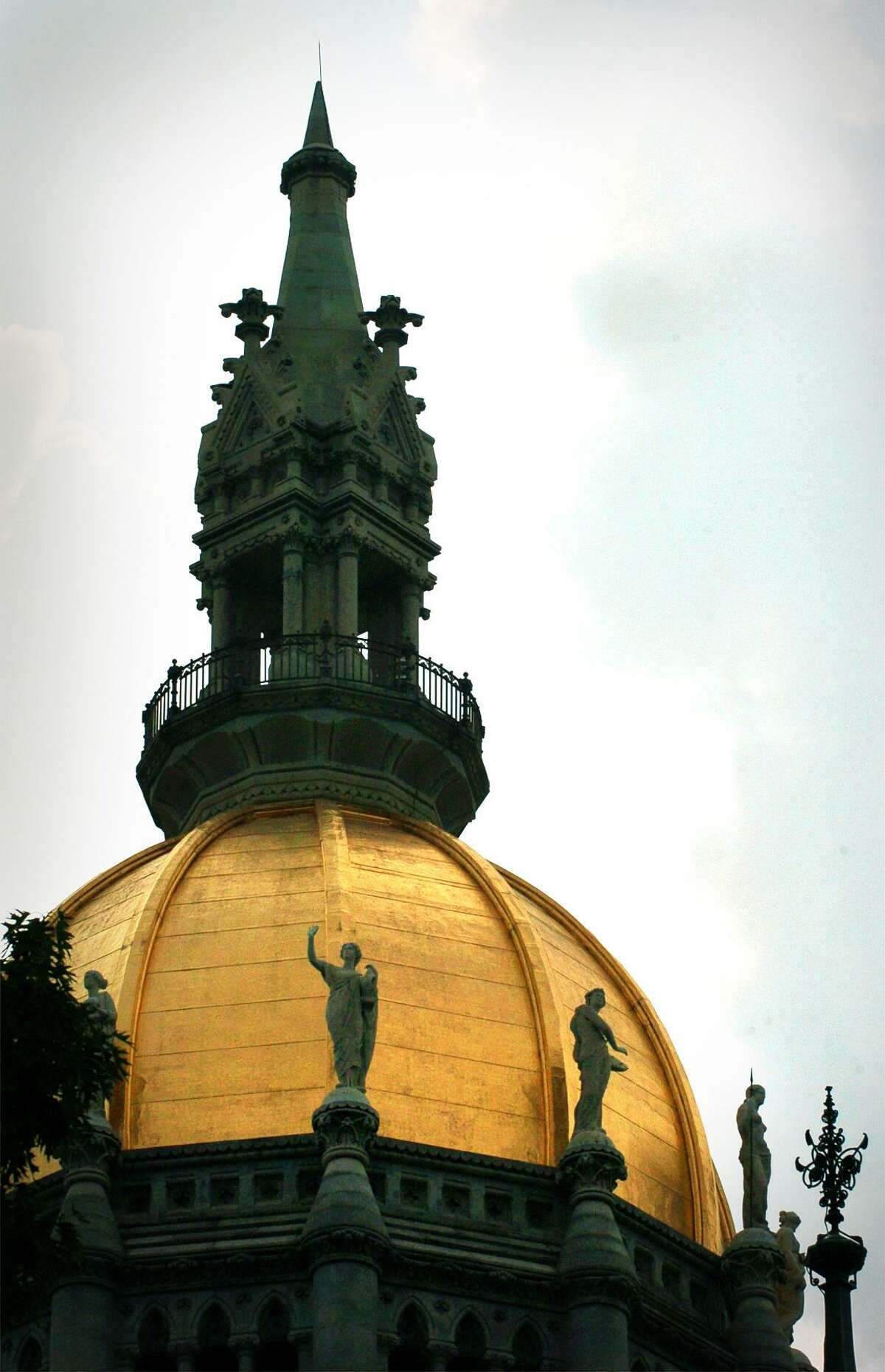 The Connecticut State Capitol in Hartford.