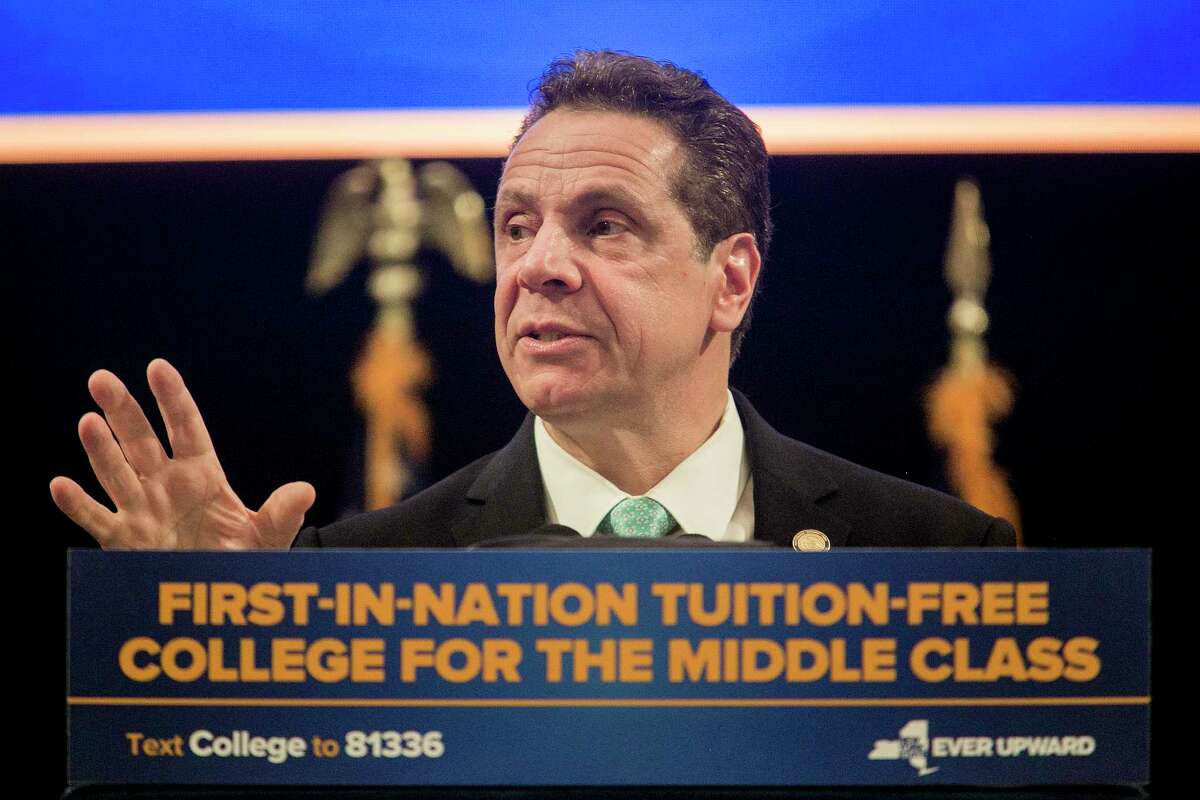 The grant allows students from households earning under $125,000 to attend state and city colleges tuition-free. It is a