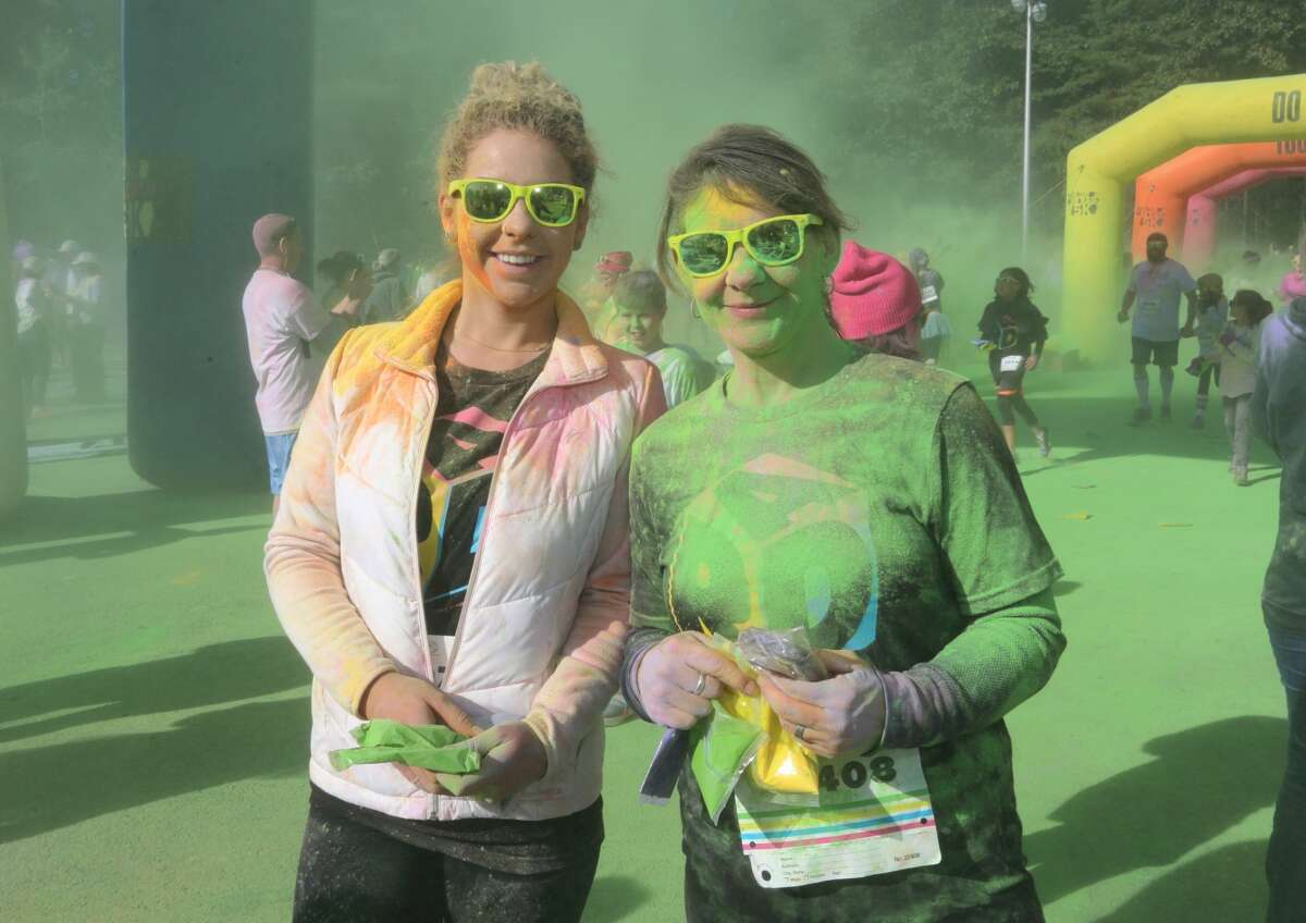 Were you Seen at the Color Me Rad 5K at the Saratoga Spa State Park in Saratoga Springs on Sunday, Oct. 1, 2017?