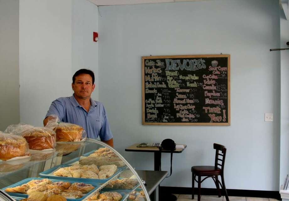Mike Oracheff, owner of Devore's Bakery, which moved from the Post Road in Fairfield five years ago and reopened this spring on 80 Brooklawn Avenue in Bridgeport. Photo: Contributed Photo, Paul Hoffman / Fairfield Citizen