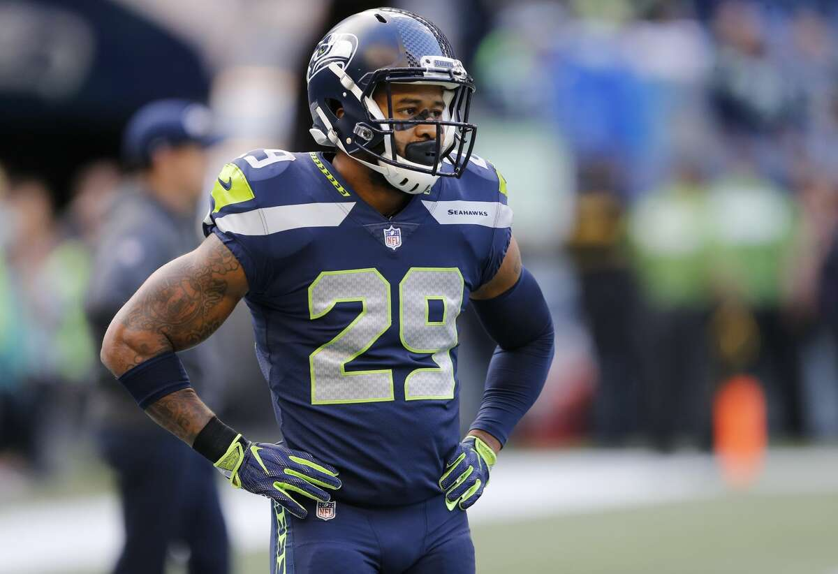Seattle Seahawks free safety Earl Thomas stands on the field before an NFL football game against the Indianapolis Colts, Sunday, Oct. 1, 2017, in Seattle. (AP Photo/Stephen Brashear)