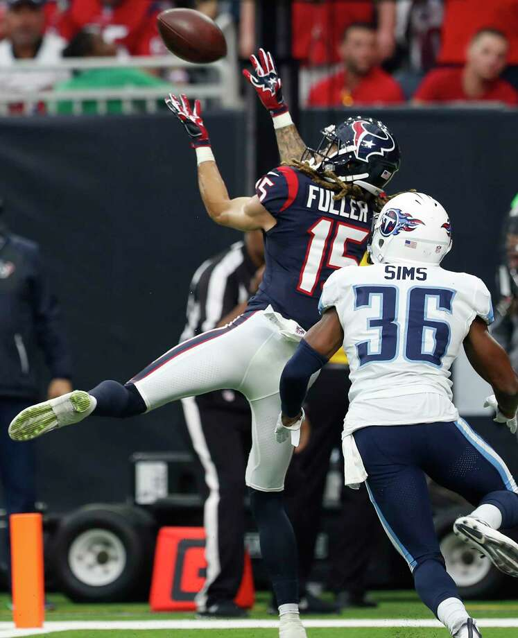 Texans wide receiver Will Fuller returned from a broken collarbone to catch two touchdowns against the Titans and provide another target for rookie quarterback Deshaun Watson. Photo: Brett Coomer, Staff / © 2017 Houston Chronicle