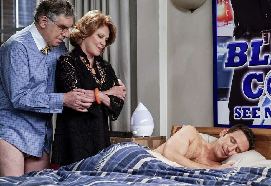 "This image released by CBS shows Elliott Gould, from left, Linda Lavin and Mark Feuerstein in a family comedy ""9JKL."" The show is one of eight new series coming to CBS in the 2017-18 season. (Cliff Lipson/CBS via AP) Photo: Cliff Lipson / é2017 CBS Broadcasting, Inc. All Rights Reserved"