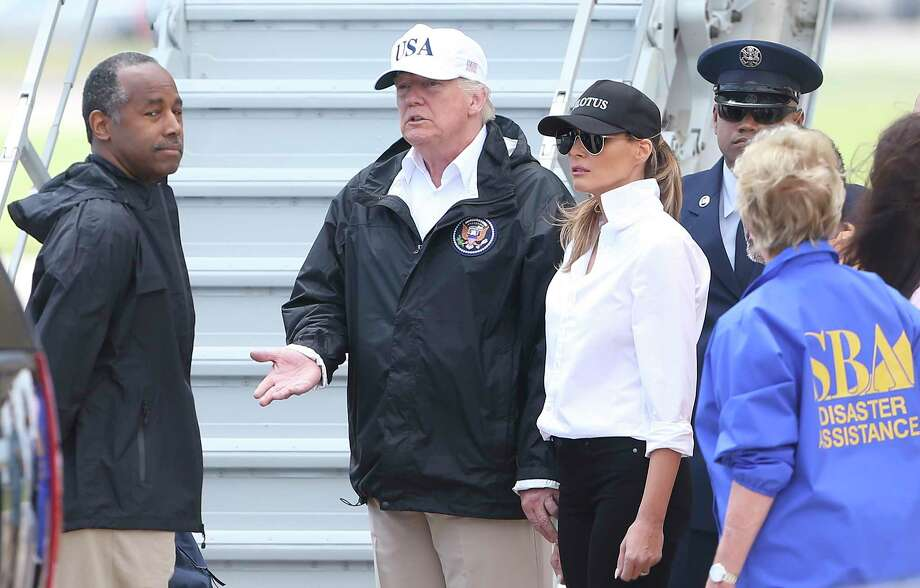 Carson: Since the hurricane, I've been to Texas twice with the President and a third time with my team, and we are aware of the lengthy task before us. HUD has been tasked with comprehensive, long-term disaster relief. That commitment will remain steadfast. (Tom Reel / San Antonio Express-News) Photo: Tom Reel, Staff / 2017 SAN ANTONIO EXPRESS-NEWS