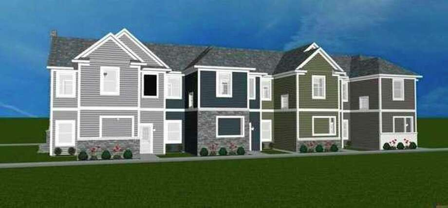 'The renderings of proposed units at Pathfinder Commons.'
