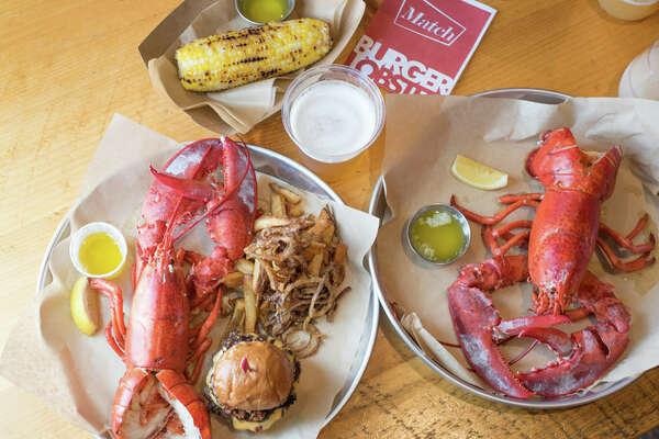 Chef Matt Storch's latest venture, Match Burger Lobster, is now open in Westport!