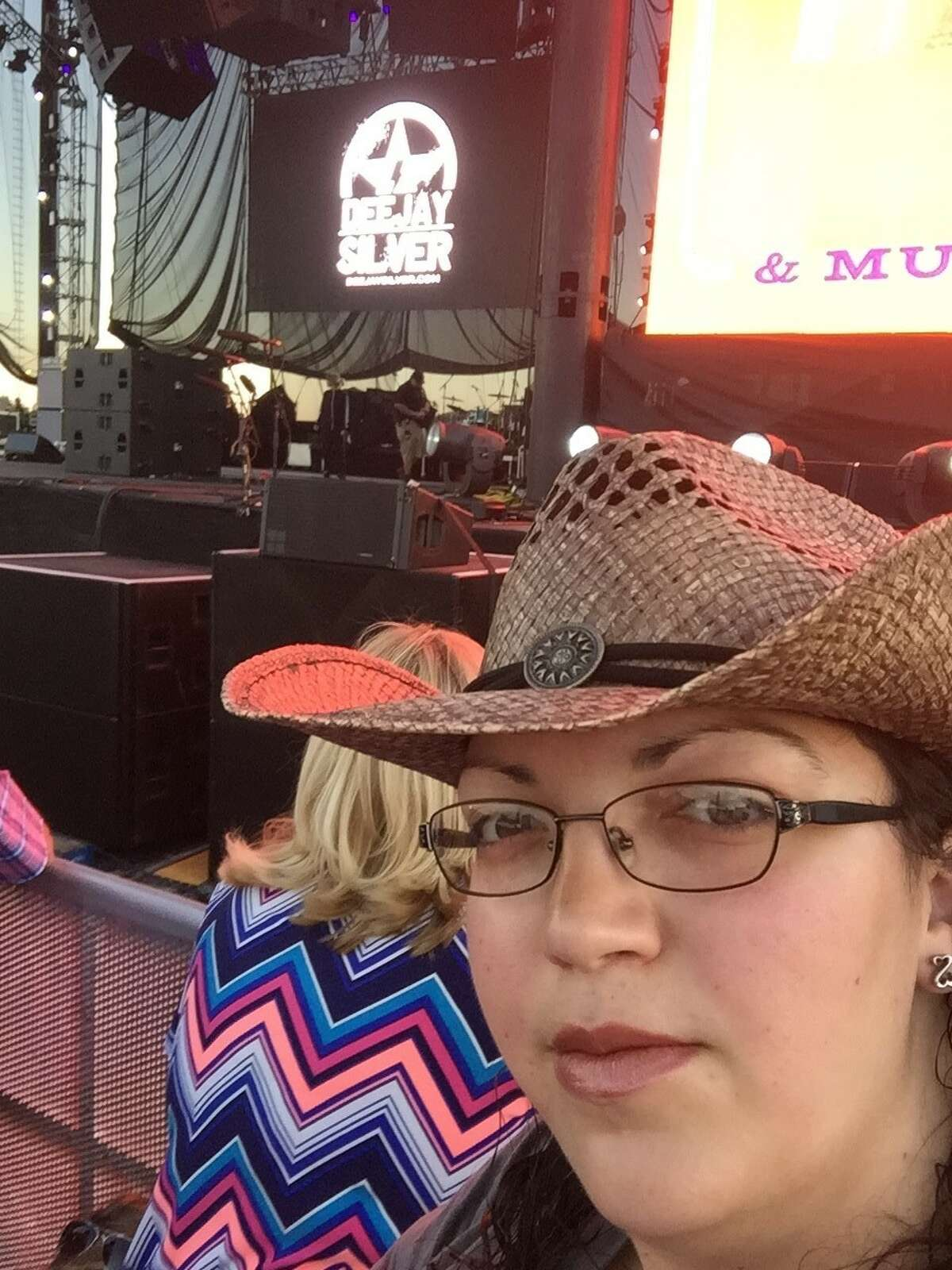 Alicia Bemis of Clifton Park described what she saw during a mass shooting at a country music concert in Las Vegas on Oct. 1, 2017. Bemis went to all three days of Route 91 Festival. (Photo provided by Alicia Bemis)