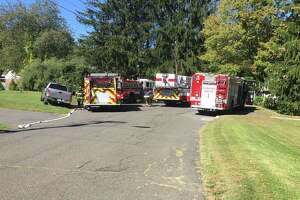 Firefighters responded to a furnace fire on Coach Road Monday, Oct. 2, 2017.