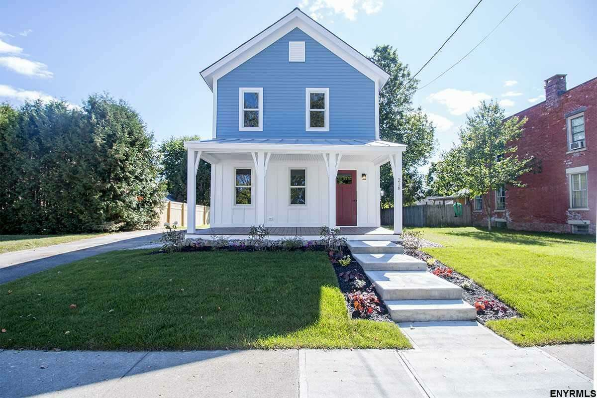 Click through the slideshow for a few homes that were just listed in the Capital Region. $559,000. 218 Grand Ave., Saratoga Springs, NY 12866. View listing.