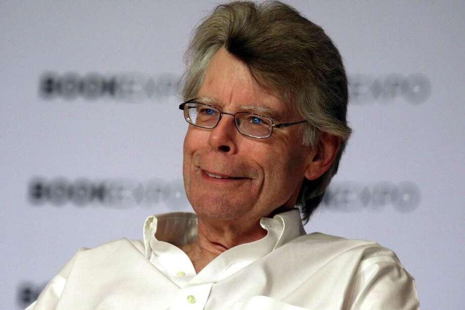 Author Stephen King has written a new horror novel with his son Owen. Photo: Nancy Kaszerman /TNS / Zuma Press