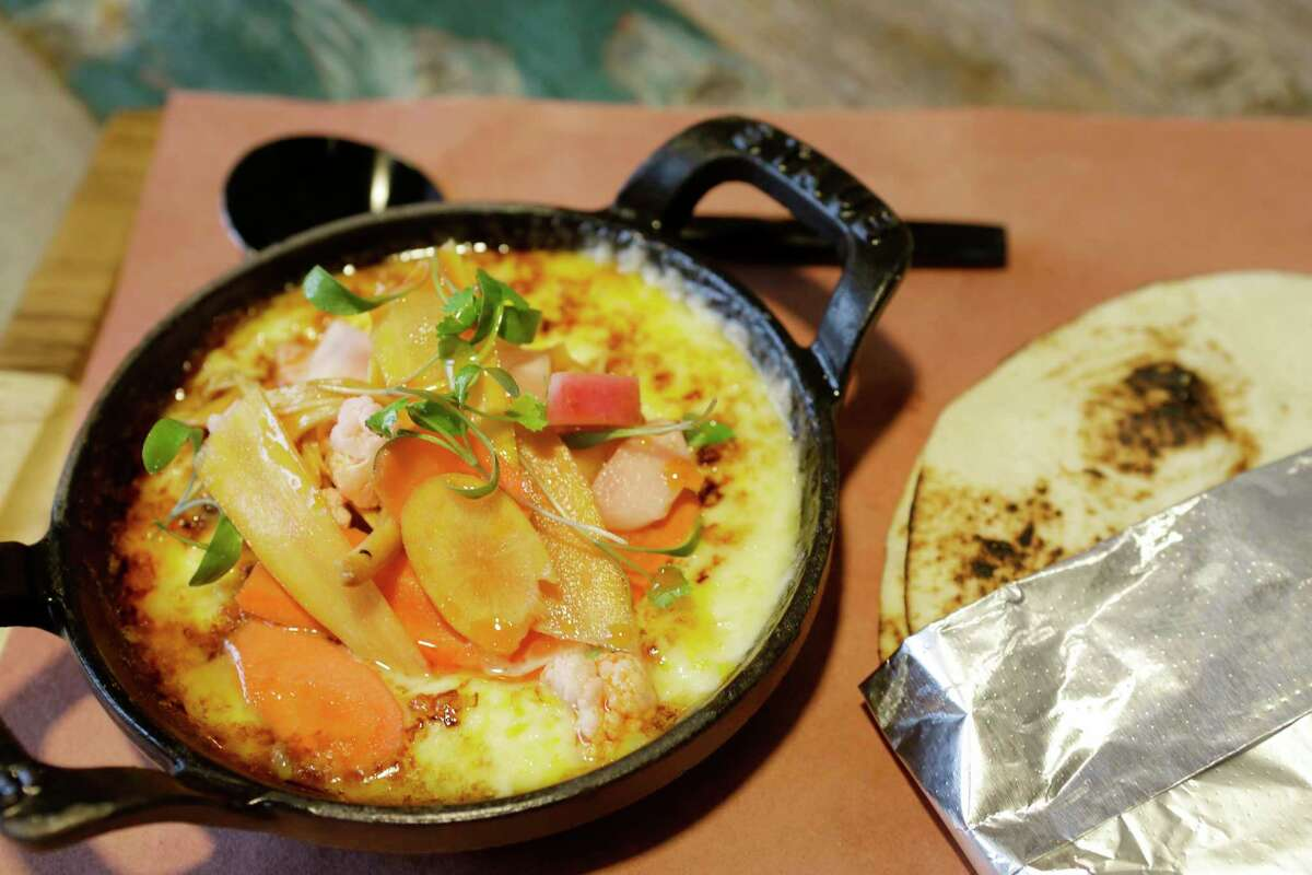 Vegetarian queso flameado is on the new lunch menu at Killen's STQ.
