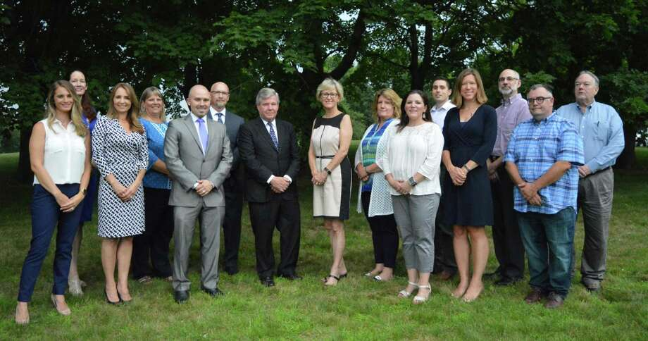The Brookfield Democratic Town Committee's slate for the November municipal election. Photo: / Contributed Photo