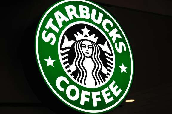 (FILES) The logo for Starbucks coffee is seen October 7, 2010 in St. Paul, Minnesota.  Starbucks, bucking a retailer trend focused on beefing up company-owned online stores, has shut its e-commerce site for the United States in an effort to drive more traffic to stores. Since October 1, 2017, shoppers on the coffee chain's online store (store.starbucks.com) are being directed to set up an online account for pickup up at local Starbucks stores for drink, coffee beans and equipment orders.  / AFP PHOTO / KAREN BLEIERKAREN BLEIER/AFP/Getty Images