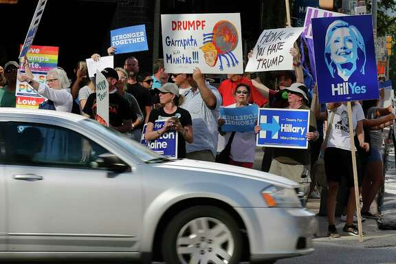 Activists hope Donald Trump's unpopularity will give the Texas Democratic Party a chance to break Republicans' hold on state government.