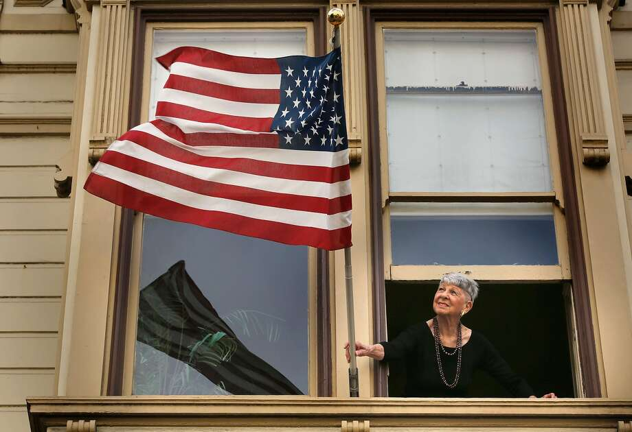 San Franciscan Vicky Berol supports President Trump and isn't shy about saying so — and she defies an array of stereotypes. Photo: Michael Macor, The Chronicle