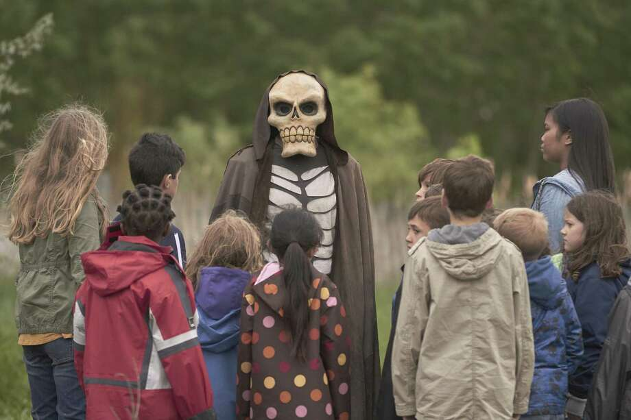 "Kids do the darndest things under the influence of a malevolent puppet in Syfy's ""Channel Zero: Candle Cove."" Photo: Syfy / 2016 Syfy Media, LLC"