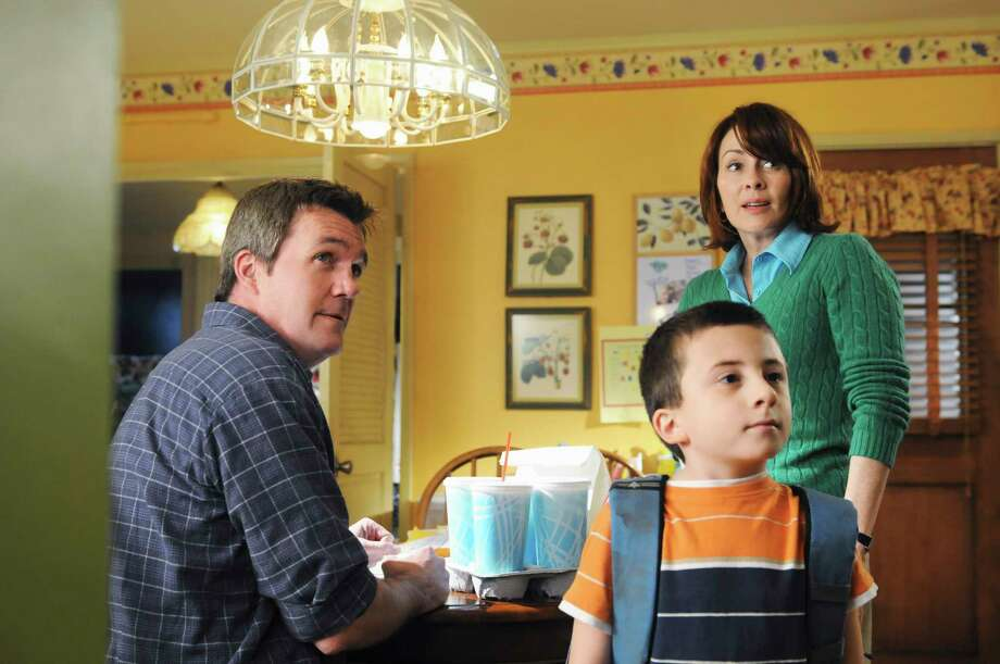 "Neil Flynn, left, Patricia Heaton and Atticus Shaffer star in ""The Middle."" Photo: RICHARD FOREMAN, ABC / American Broadcasting Companies,"
