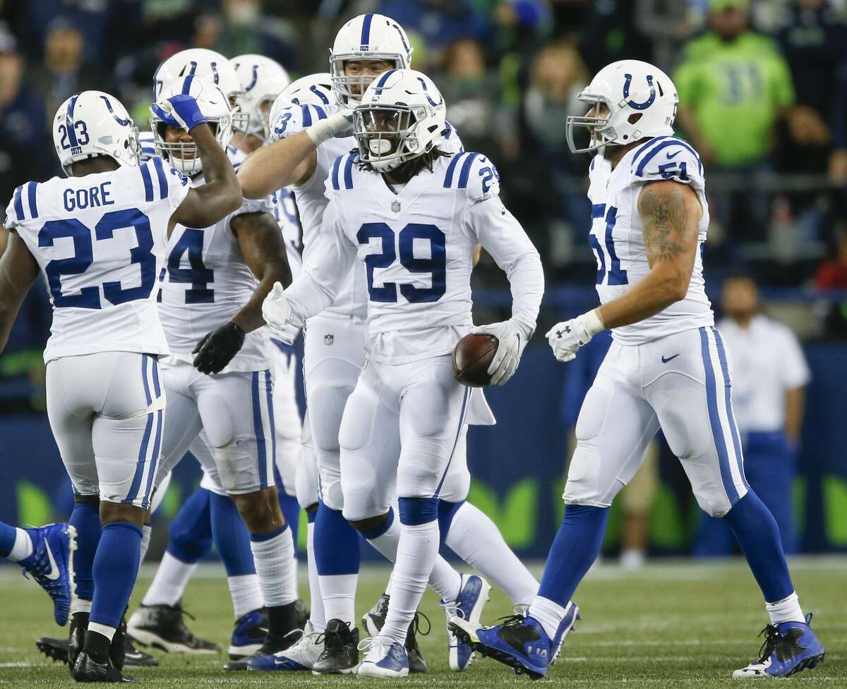 30. Indianapolis Colts (1-3)Previous: 29 It's tough times in Indy, but at least rookie safety Malik Hooker has interceptions in three straight games.
