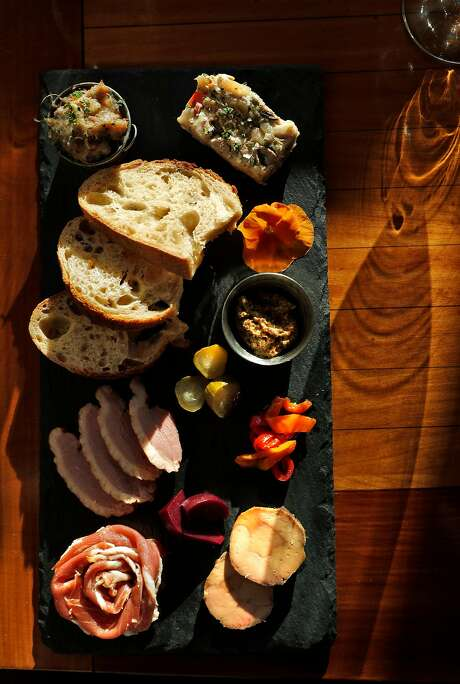 The charcuterie at Perle in Oakland. Photo: Carlos Avila Gonzalez, The Chronicle