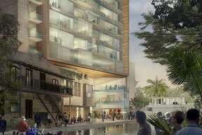 Local developer Keller Henderson formerly planned to build a 10-story apartment building, but increased the height to 15 stories after perceiving the strength of downtown's multifamily market.