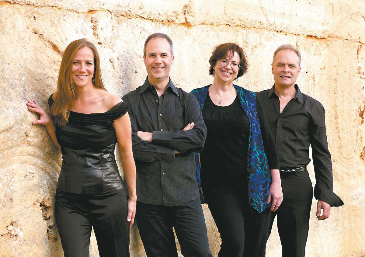 The SOLI Chamber Ensemble musicians are clarinetist Stephanie Key (from left), violinist Ertan Torgul, pianist Carolyn True and cellist David Mollenauer.