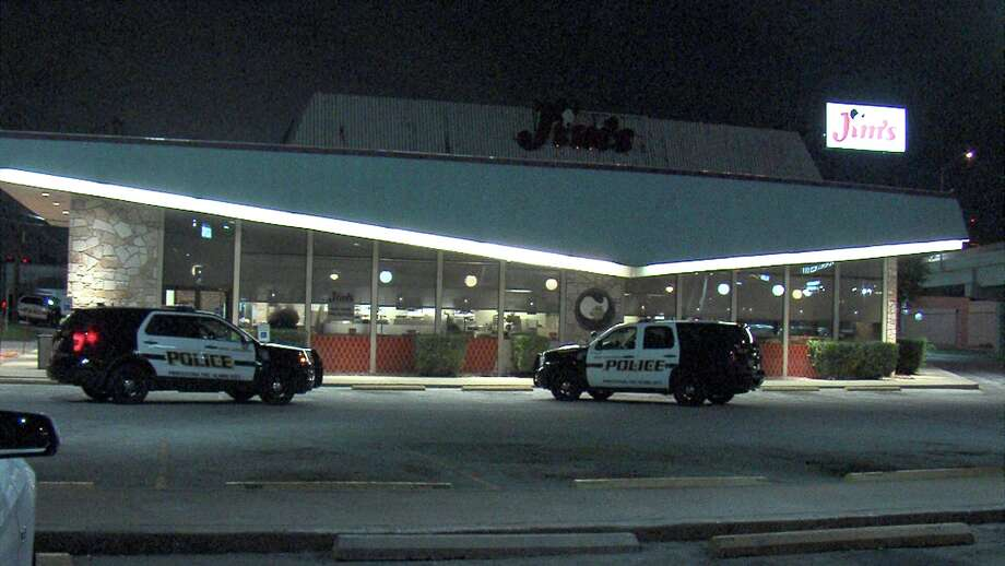 Police responded to the robbery around 3:30 a.m. at the Jim's Restaurant in the 5900 block of Bandera Road. Photo: Ken Branca