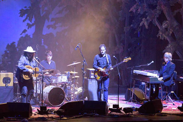 """Wilco, the influential six-man act, brought its acclaimed """"Schmilco"""" tour to San Antonio's Tobin Center on Monday, Oct. 3, 2017. Fans gathered for the Chicago-based band's 10th studio album, praised by Rolling Stone and Paste magazines as one of the best albums of 2016."""