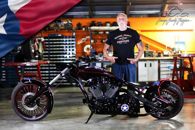 Orange County Choppers Texas Strong Motorcycle To Be