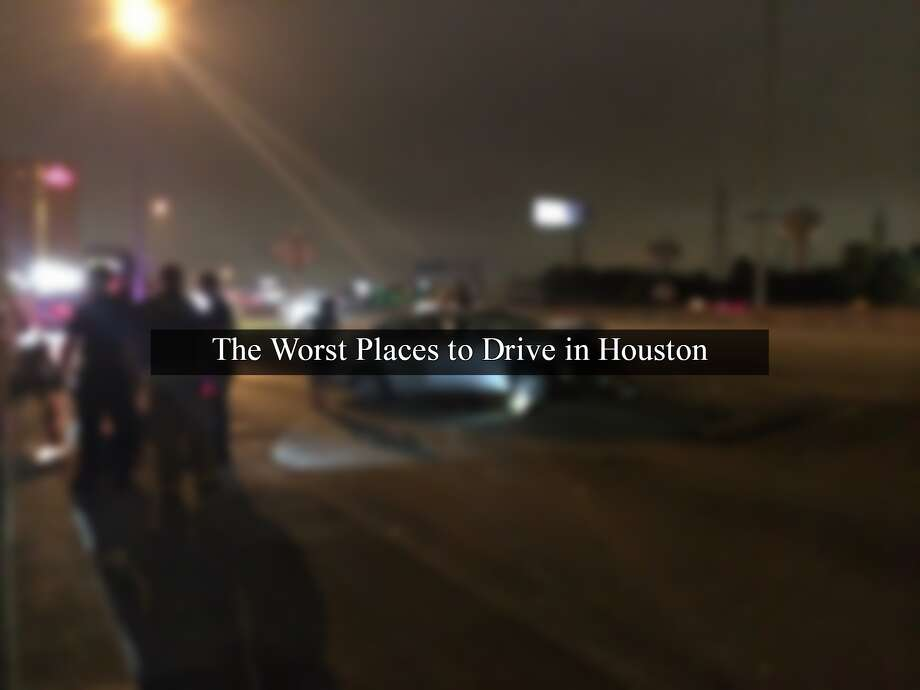 Using data from the National Highway Traffic Safety Administration, computer software company MIOsoft has created a data visualization showing where accidents have occurred from 2008 to 2014.   >>Here's where Houston has recorded the most accidents.Source: Accident Explorer  Photo: File/Houston Chronicle