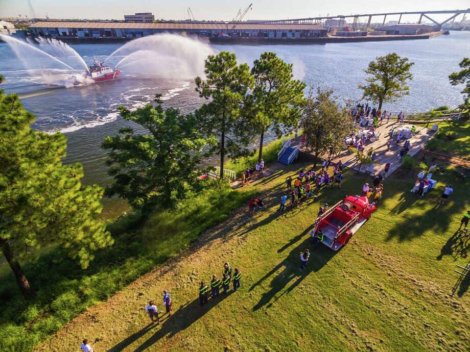 Brady's Landing hosts a Turn-Around Party during the Park to Port Bike Ride. Photo: JAEKAE Marketing And Design