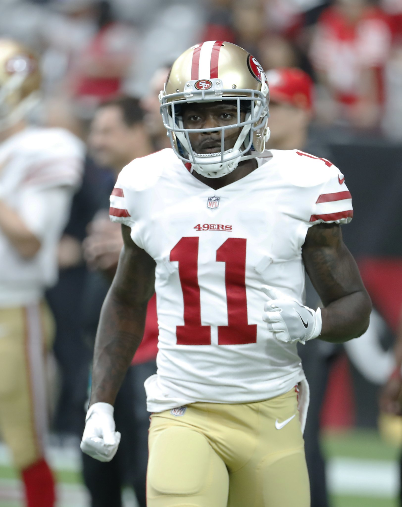 162f517f84c 49ers WR Goodwin s latest concussion is fourth in less than 14 months -  SFGate
