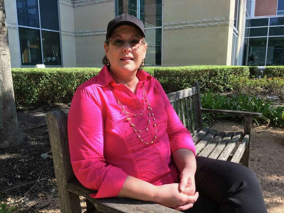 Breast-cancer survivor Catherine Louvier is looking forward to taking her grandchildren to Disney World when they're old enough. Both turn 1 this year. Photo: Karen Zurawski