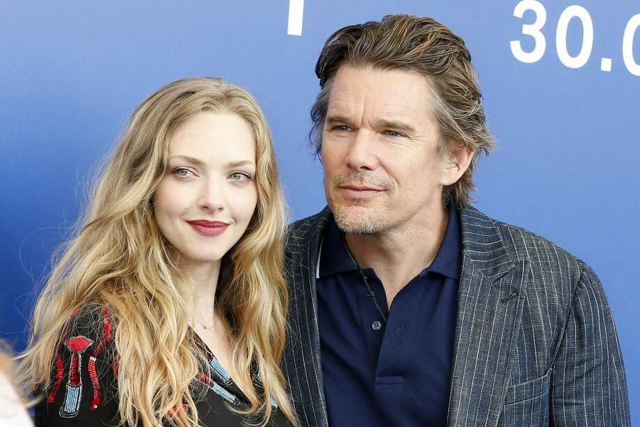 VENICE, ITALY - AUGUST 31:  Ethan Hawke and Amanda Seyfried attend the 'First Reformed' photocall during the 74th Venice Film Festival on August 31, 2017 in Venice, Italy.   PHOTOGRAPH BY P. Lehman / Barcroft Images  London-T:+44 207 033 1031 E:hello@barcroftmedia.com - New York-T:+1 212 796 2458 E:hello@barcroftusa.com - New Delhi-T:+91 11 4053 2429 E:hello@barcroftindia.com www.barcroftimages.com (Photo credit should read P. Lehman / Barcroft Images / Barcroft Media via Getty Images) Photo: Barcroft Media/Barcroft Media Via Getty Images