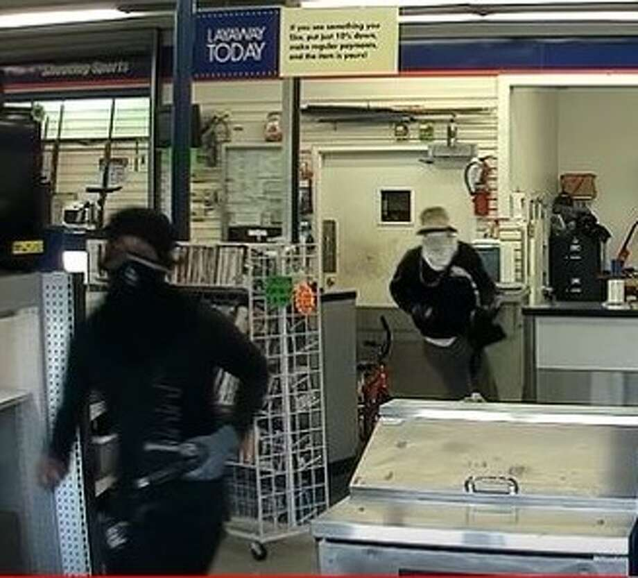 The Houston field division of the ATF is asking for help tracking down three men who robbed a pawn shop in east Houston and stole four guns in the process.