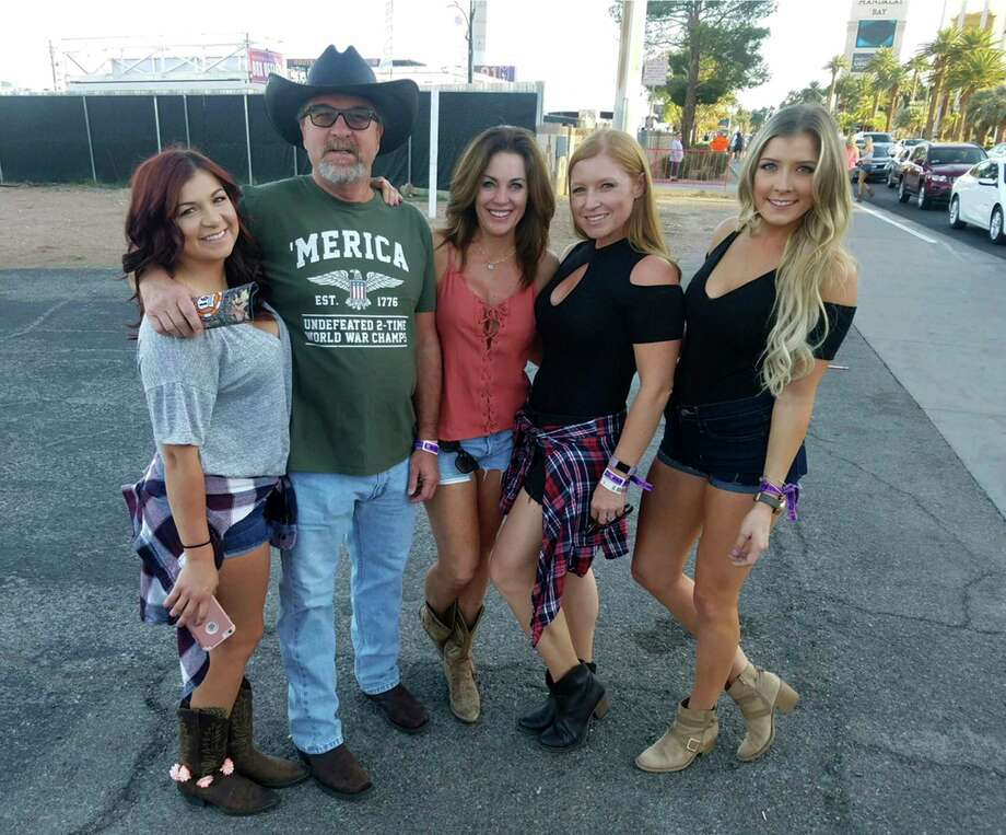 Tom Day Jr., 54, of Riverside, California. He is shown here with his family. Photo: AP / Tom Day Jr. family