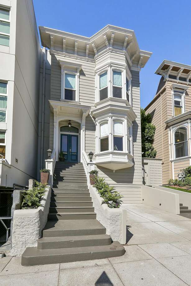 1948 Sutter St. in Lower Pacific Heights is available for $3.4 million. Photo: Open Homes Photography