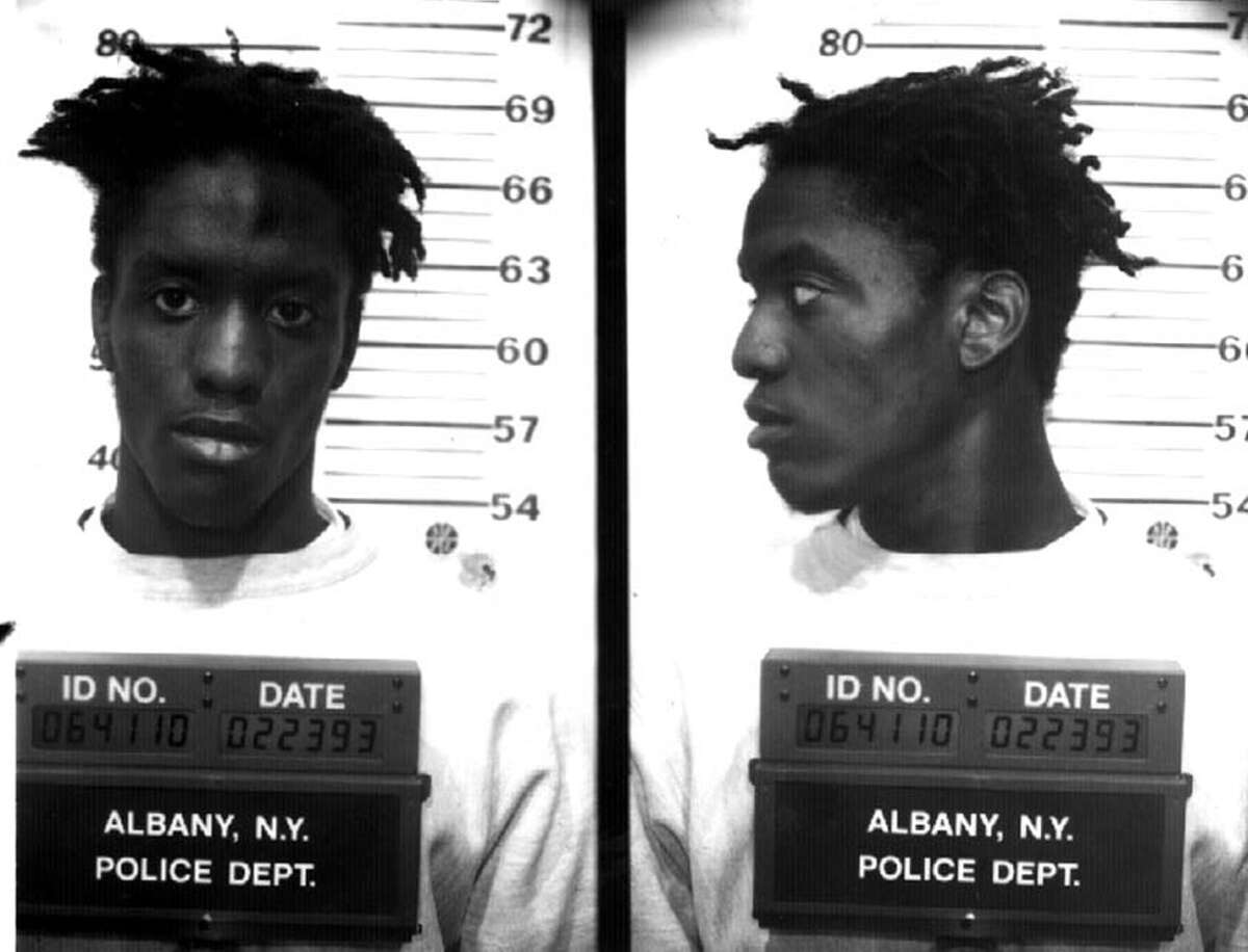 Jeffrey J. Conrad, shown in 1993, spent much of his life behind bars. His convictions included weapons possession, rape, assault and drug dealing. (Albany Police)