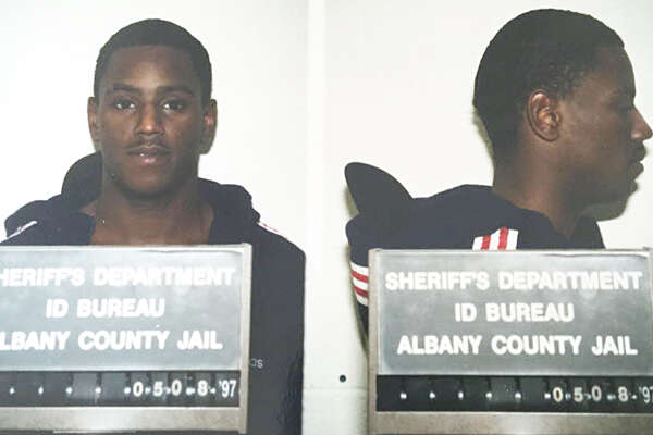 Carl Dukes booking photo in 1997. He was 20 years old and facing burglary and trespassing charges.