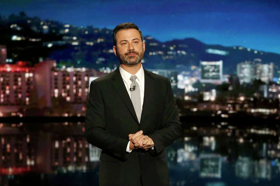 "Jimmy Kimmel on ""Jimmy Kimmel Live!"" Photo: Randy Holmes, ABC / © 2017 American Broadcasting Companies, Inc."