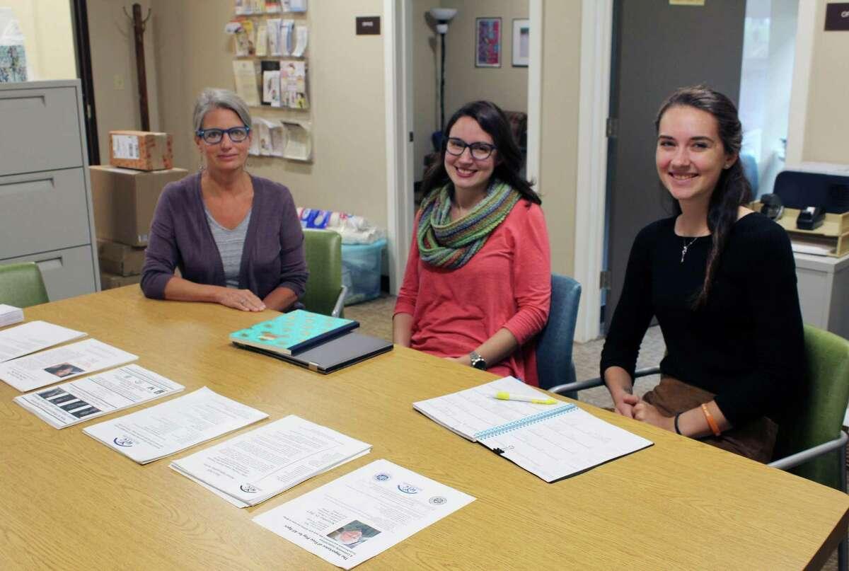 Colleen Fawcett, Dana Tufariello and Kaitlyn LaBonte of Wilton Youth Services speak about the department's revamped GoZen! program.