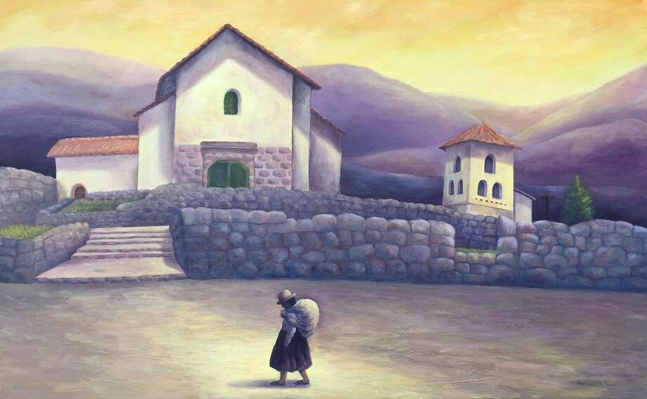 The Loft Gallery welcomes a new exhibition of paintings and drawings by Peruvian artist, Marisabel Artieda, opening Oct. 7. Photo: Contributed Photo / Contributed Photo Not For Resale