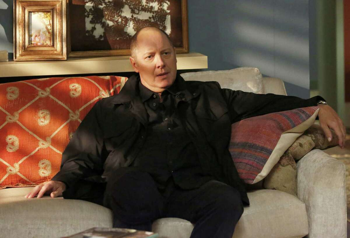 """This image released by NBC shows James Spader in a scene from, """"The Blacklist,"""" premiering Wednesday, Sept. 27. (Will Hart/NBC via AP)"""