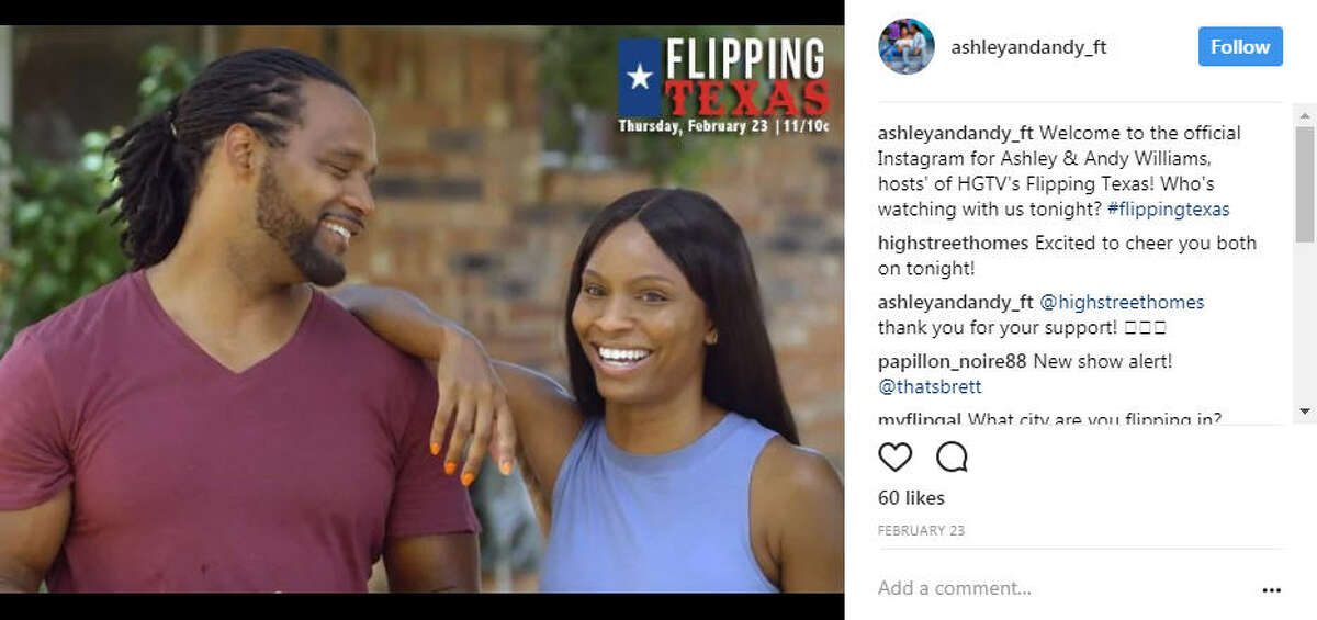 """They had a pilot for a show called """"Flipping Texas"""" that aired in February 2017, which later became """"Flip or Flop Ft. Worth."""" Photo: Ashley and Andy Williams Instagram"""