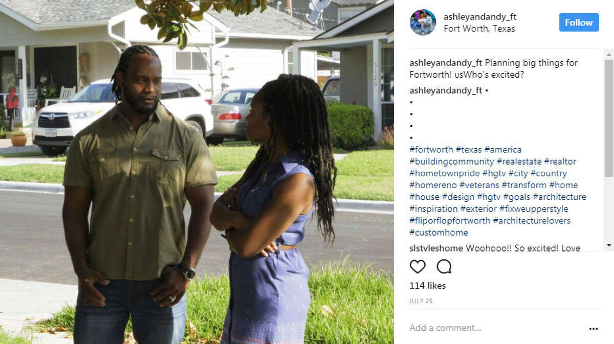 Neither of them were looking to be on TV when they were approached with the opportunity. In fact, they were on vacation. Photo: Ashley and Andy Williams Instagram