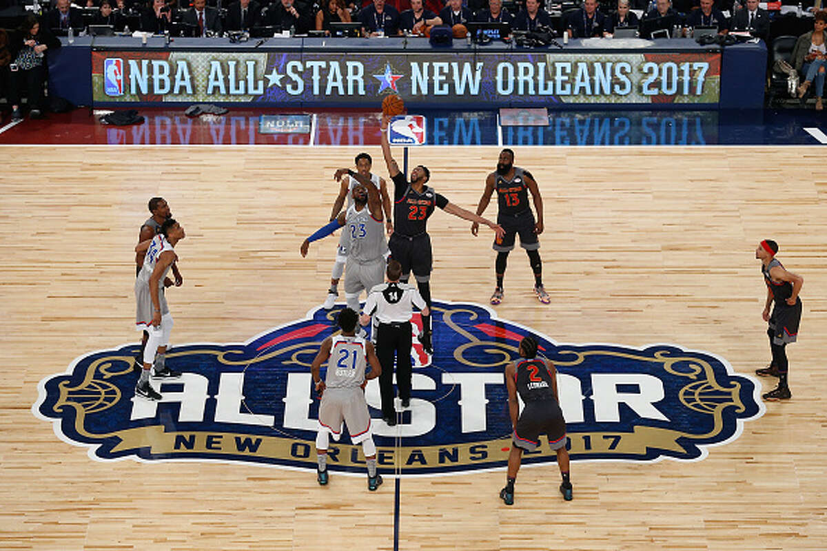 FILE--The 2017 NBA All-Star Game at Smoothie King Center on Feb.19, 2017 in New Orleans, Louisiana.